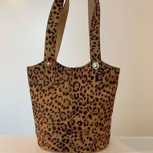 Ted Baker Animal Print Bucket Bag
